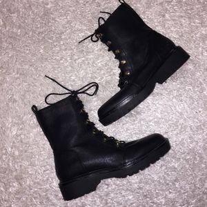 Guess Combat Black Boots